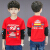 男性用春服Tシャツ长袖2019新型の中で、大童春カジュムの少年服の春着のTシャッツの赤い140ヤードゥは身长140 cmのぐるっとをお勧めします。