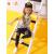 ピグナメンズTシャツ長袖2019春装新款子供用ボトムスの中の大子供カジュアルトップスの潮浅花灰130 cm
