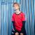 ホーンシ(ERKE)子供服子供服流行套头袖袖Tシャツカジュアルスポーツ男性子供服新款正红160