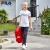FILAフレディ子供服2019夏新型女の子Tシャツ半袖純綿ロゴ柄丸首スポーツニット子供Tシャツ標準白160 cm