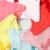 輪煕児Dorrsill女童半袖Tシャツ夏服韓版子供丸首打底シャツの中の大きい子供の女の子の上着の青い140