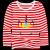 南极人ガールズTシャツ长袖子供用ボトムスの中の子供服の上着は洋風春秋Tシャツの赤い90 cm(女性専用)です。