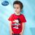 ディズニは子供服の子供服の子供服の中小童ニット半袖Tシャツ2019春夏新型DA 925745 E 09大紅110を自営しています。