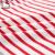ハローキティの子供服2019春新作の女の子春秋テイ赤ちゃんねる长袖Tシャツの着付けの真赤な白のストリップ110