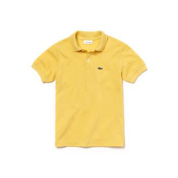LACOTE(フランスワニ)男児経典通気綿質上質半袖ポロシャツPJ 2909 L 2 QPN黄4 A