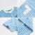 トーマス供服男性ファンシー半袖Tシャッツ純綿子夏服2019新型中大子供ストレープは海青130 cmを着用しています。