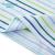 全綿時代の幼児の男性用ニットの色は半袖のTシャツを編んで、1枚は青い緑の条の90 cmを詰めます。