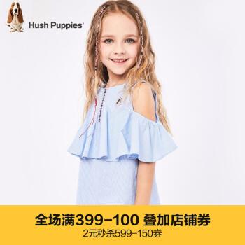 ハッシューブランドの子供服の女の子服の上着2019夏の新型子供服の上着のTシャツの中で大子供のファッションがたっぷりあります。