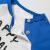 ミニバラベビー半袖Tシャツ2019夏新品子供服男性通気体Tシャツ中国青8500