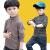 ディィズニ-子供ハイカラ-打底シャツ春秋2019新型韓国版子供服男の子ストライプ長袖Tシャツストライプ柄ラクダ色105 cm(105ヤード提案身長95-10 cm体)