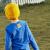 【小黄人IPモデル】ピグナ子供服男性用Tシャツ長袖カーディガン2020年春新作綿彩青130 cm
