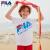 FILAフレディ子供服男女半袖2020年夏新型ファッション激色子供Tシャツ丸首T深天藍-NV 150 cm
