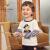 精典泰迪Class ic Teddy子供Tシャツ男の子の長袖の上着、女の子の服、赤ちゃんの外出服、秋の2020新型オーダーメイドモデル2-深藍90 cm